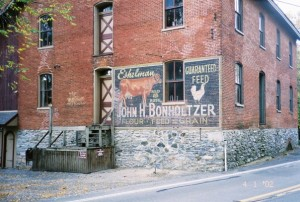 Lancaster, PA Painted Building