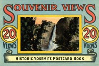 Historic Yosemite Postcard Book
