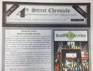 4th Street Chronicle Newspaper