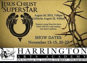 Jesus Christ Super Star at Harrington Arts