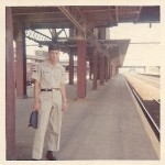 Rad at Train Station