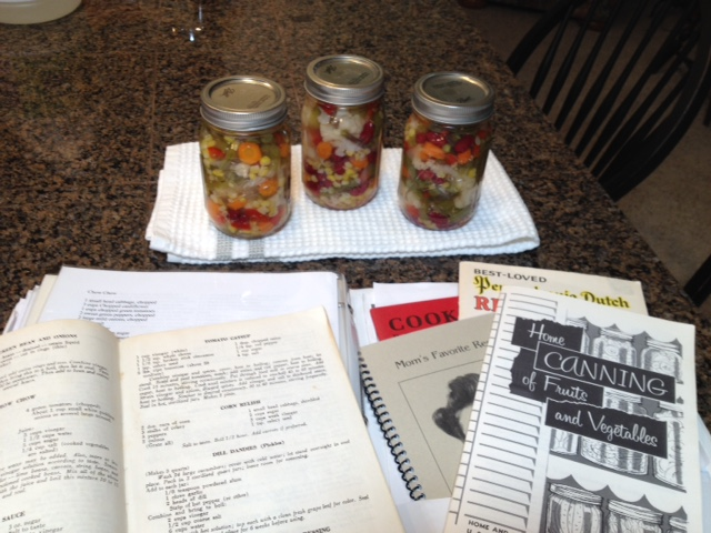 Chow Chow Recipe - Mary Ann's Walkabout