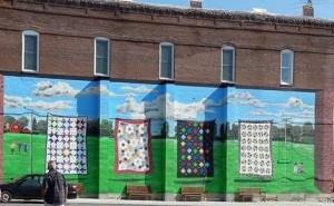 Quilt wall art