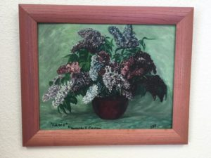 Susan's Lilac Painting