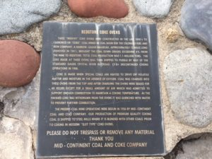 Coke Oven Historical Plaque